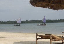 Pole Beach Dhow 0078