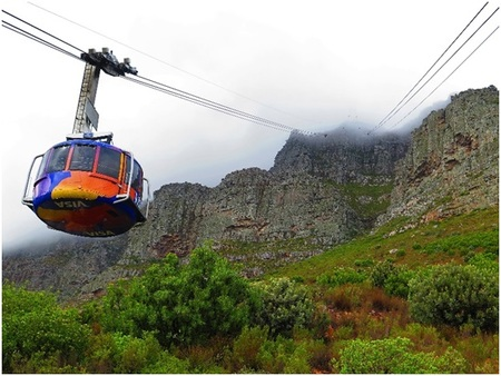 Table Mountain Cable car with frontiertours